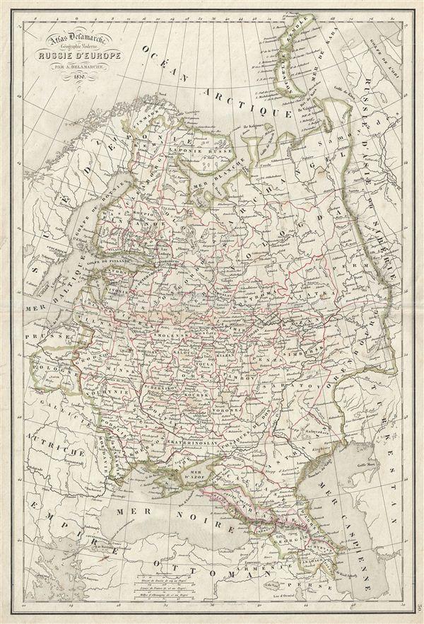 Russie d'Europe.