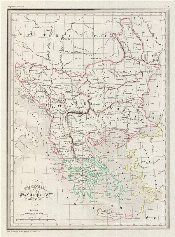 Turquie Europe.