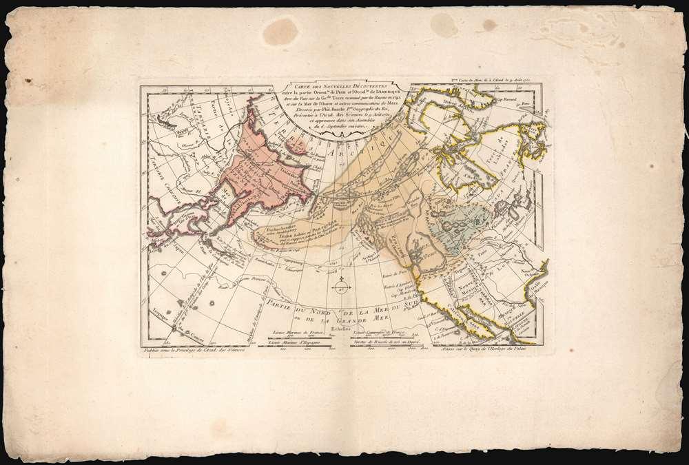 Exposé des Découvertes au Nord de la Grande Mer... - Alternate View 1