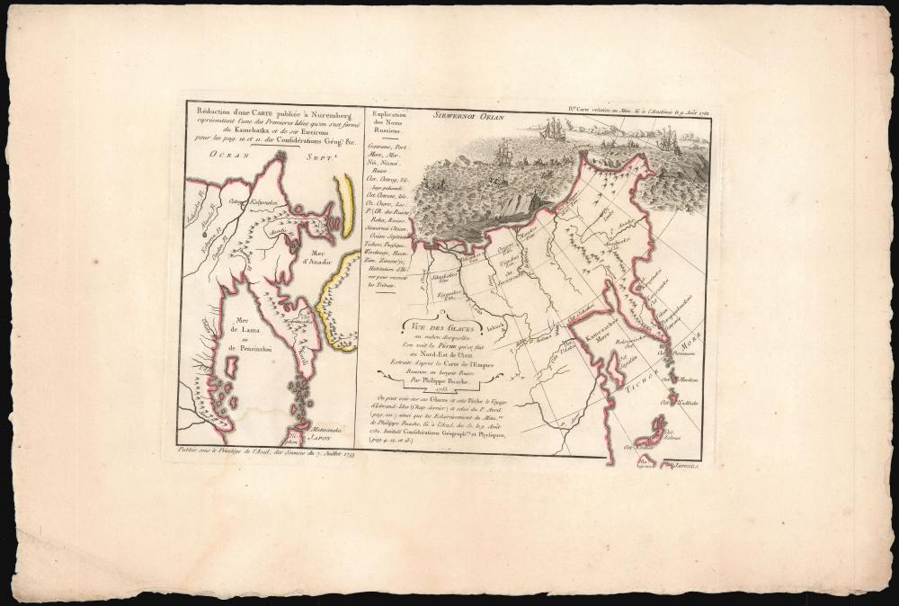 Exposé des Découvertes au Nord de la Grande Mer... - Alternate View 3