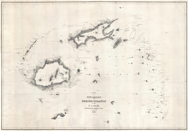 Chart of the Viti Group or Feejee Islands by the U.S. Ex. Ex.
