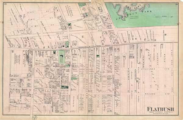Flatbush Town of Flatbush Kings Co. L.I.