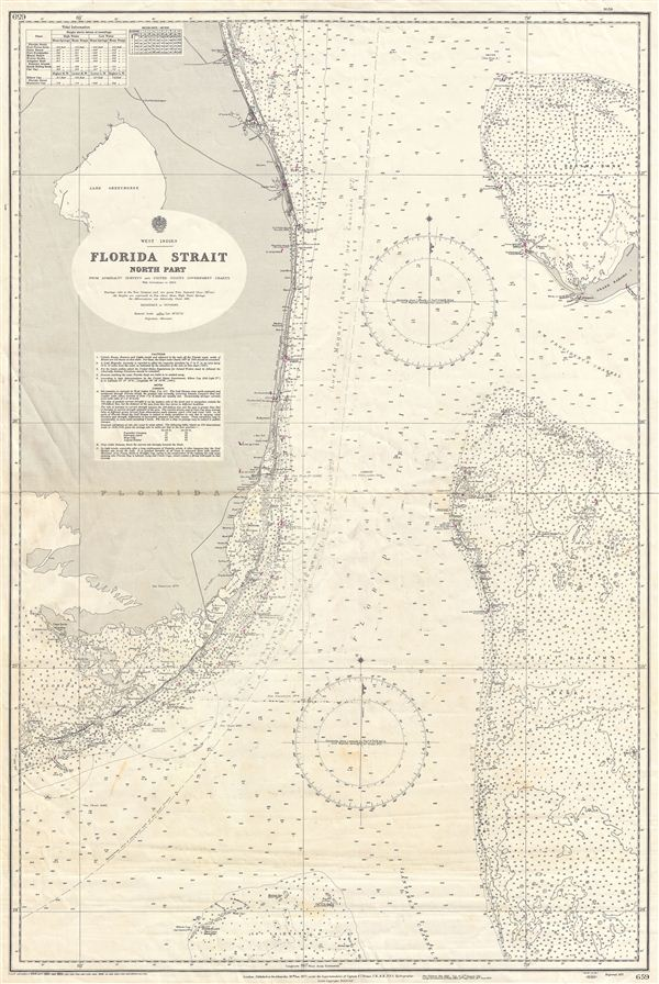 West Indies Florida Strait North Part - Main View