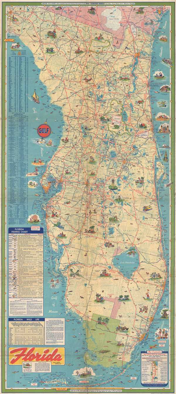 Florida.: Geographicus Rare Antique Maps