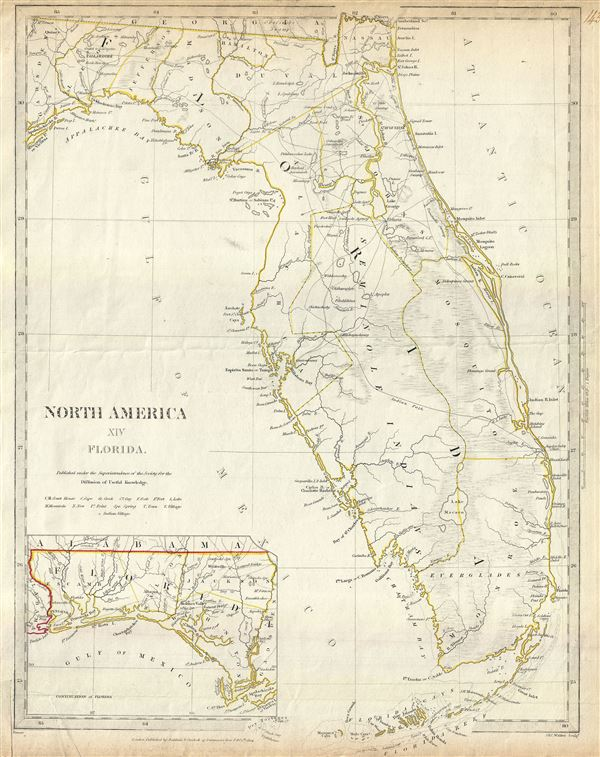 North America XIV Florida. - Main View