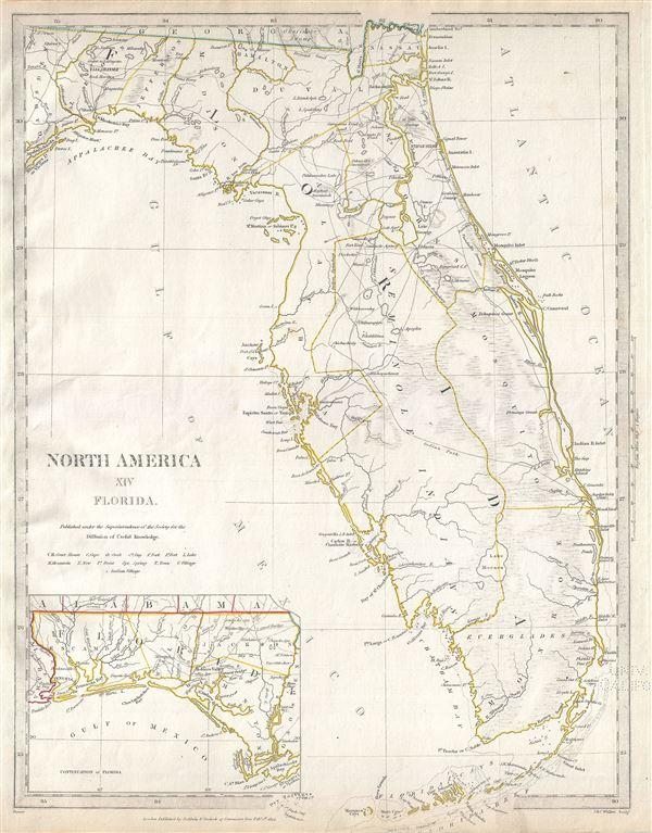 North America XIV Florida. - Main View