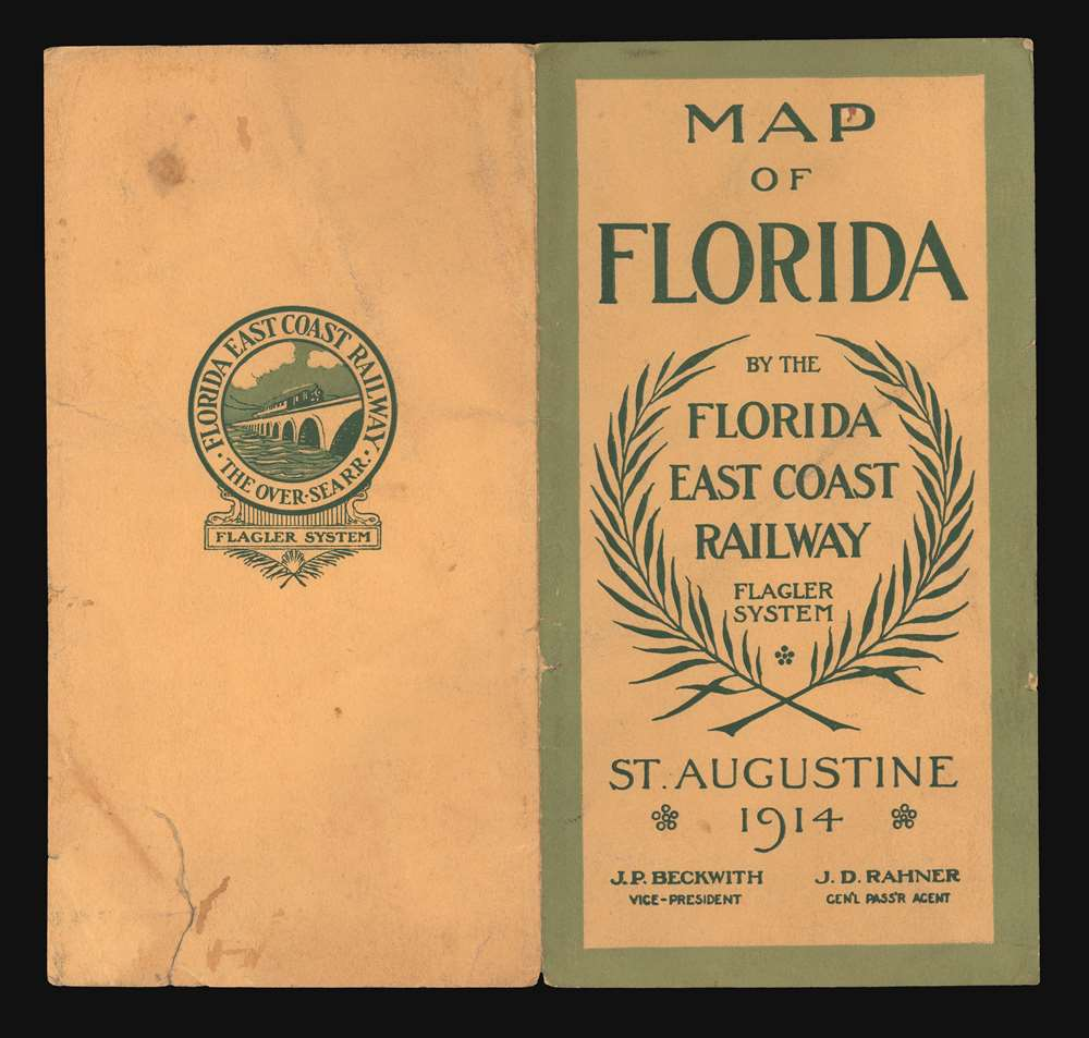 Map of the Peninsula of Florida and Adjacent Islands. - Alternate View 2