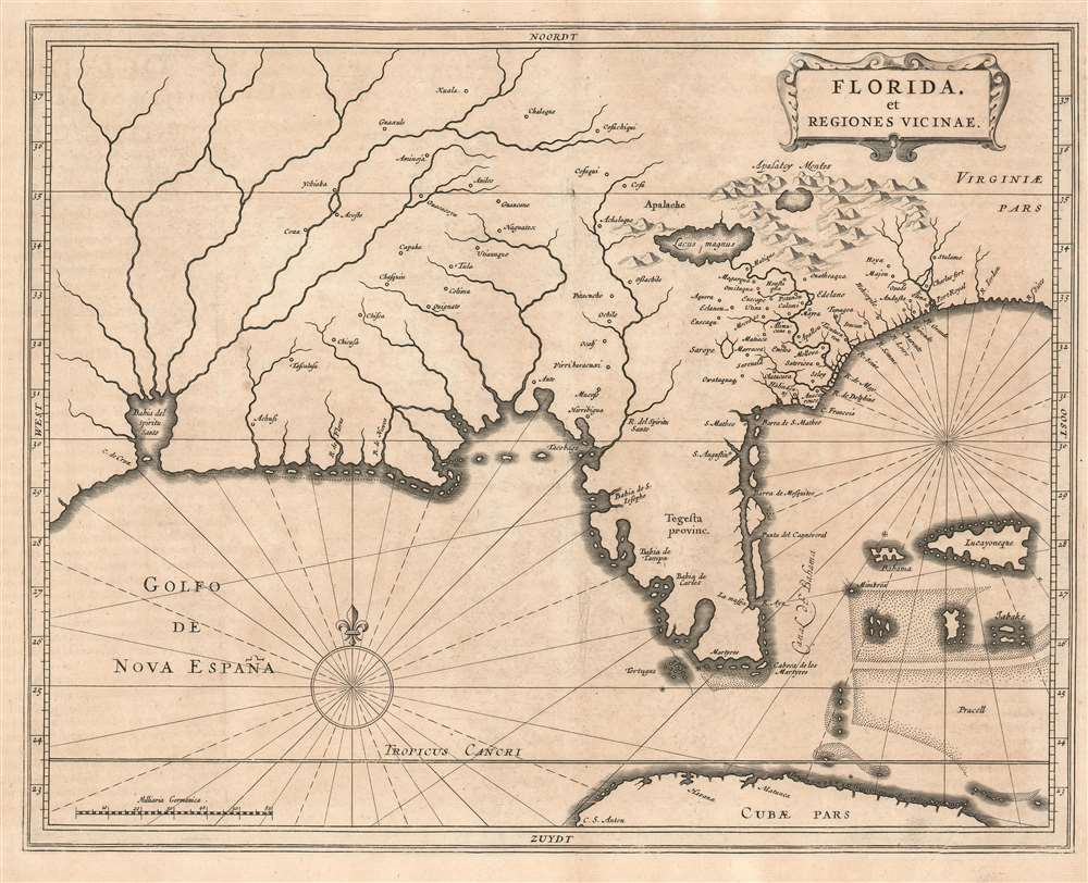 Florida, et Regiones Vicinae. - Main View