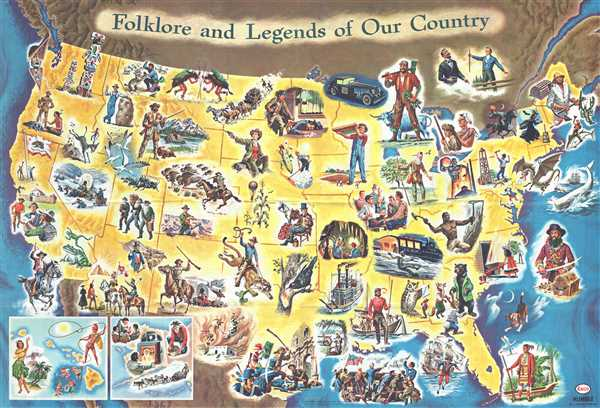 Folklore and Legends of Our Country.