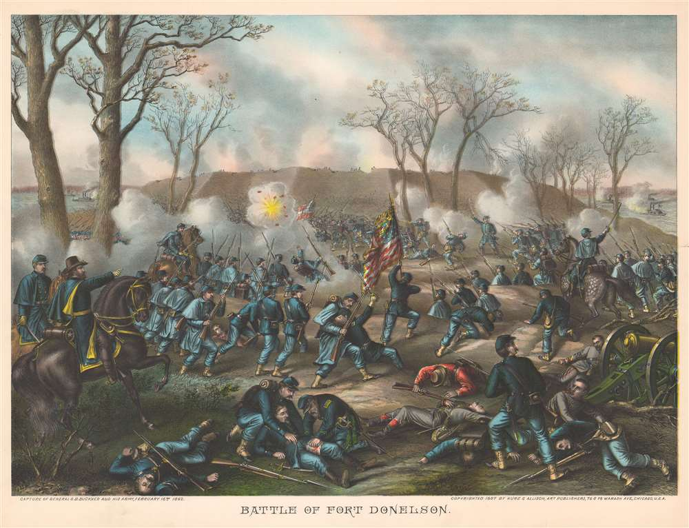 Battle of Fort Donelson. - Main View