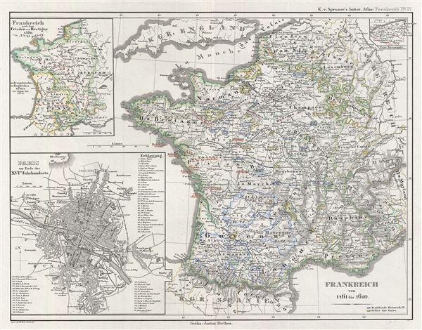 Frankreich von 1461 bis 1610.