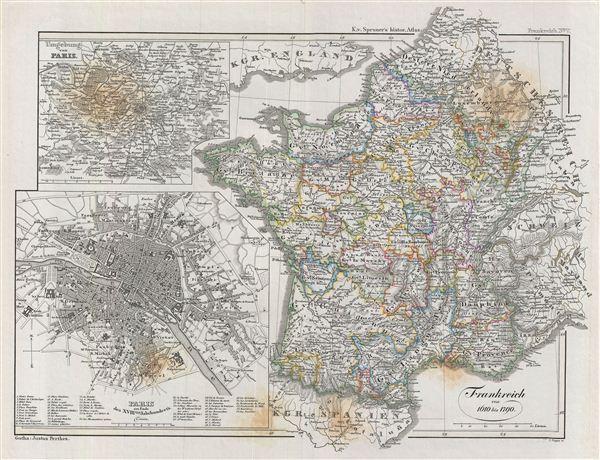 Frankreich von 1610 bis 1790.