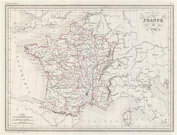 France en 1789.