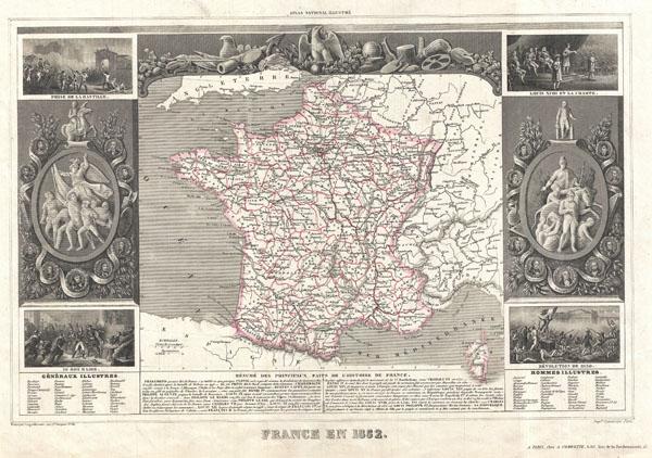 France en 1852.