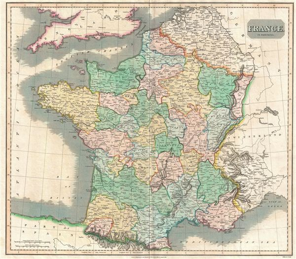 France in provinces. - Main View