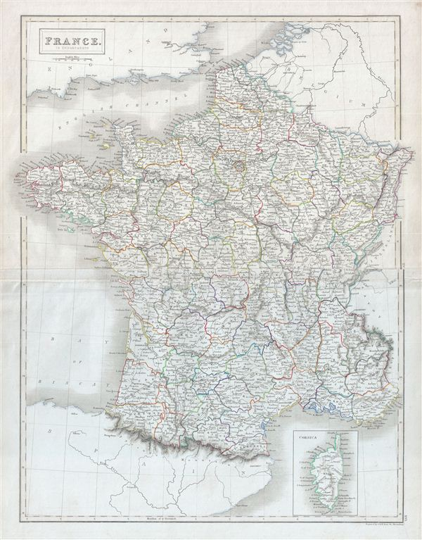 France.  In Departments. - Main View