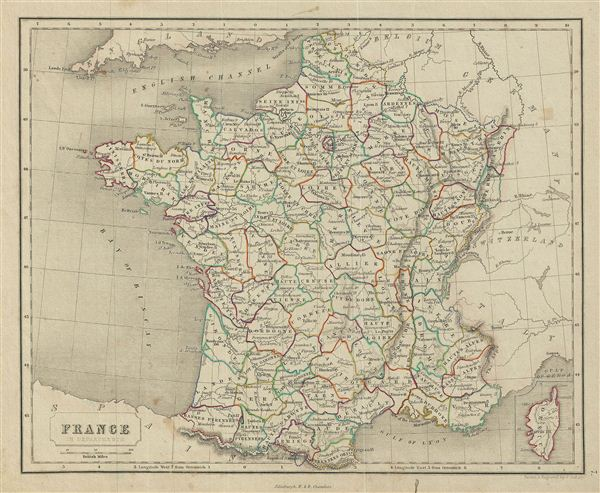 France in Departments.