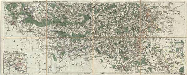 Les Environs de Neufchateau, Virton, Montmedy, Longwy, d'Anvillers &c.  Les Environs de Luxembourg, Arlon, Thionville, &c.
