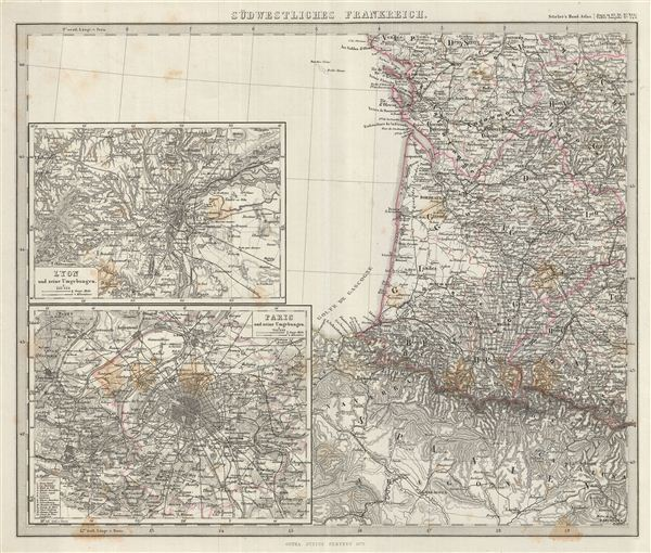 Sudwestliches Frankreich.