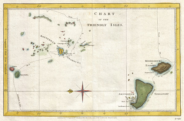 Chart of the Friendly Isles. - Main View