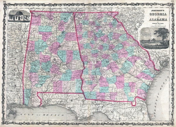 Johnson's Georgia and Alabama