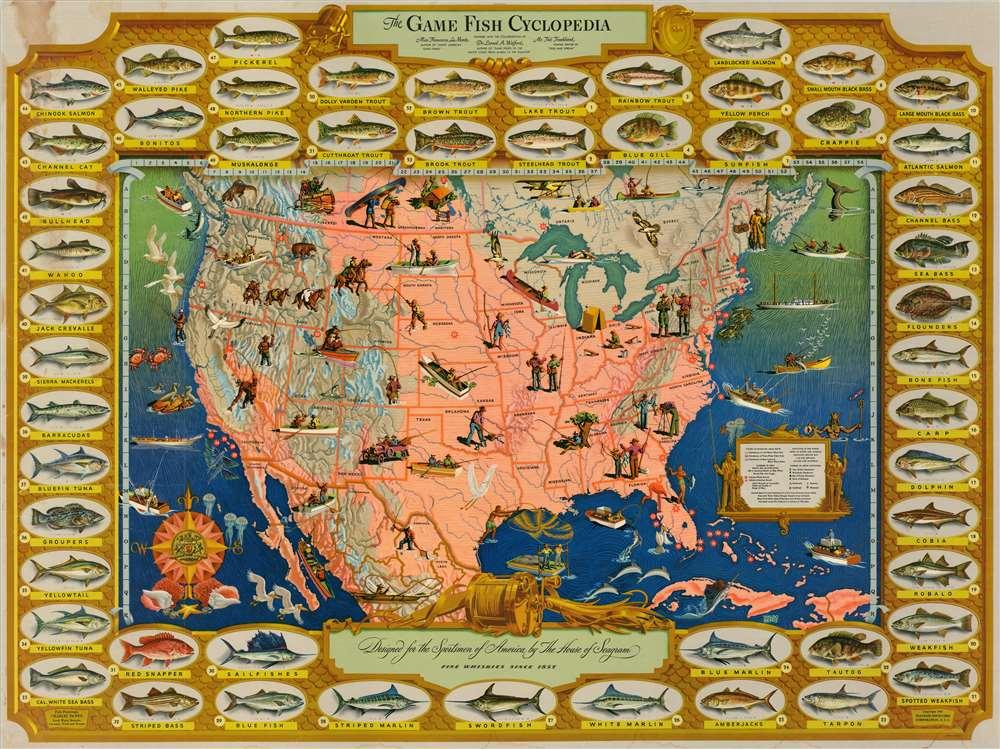 The Game Fish Cyclopedia. - Main View