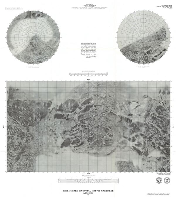 Preliminary Pictorial Map of Ganymede. - Main View