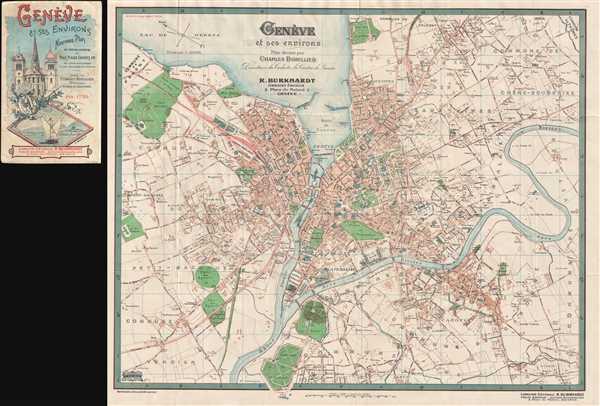 Genève et ses environs.