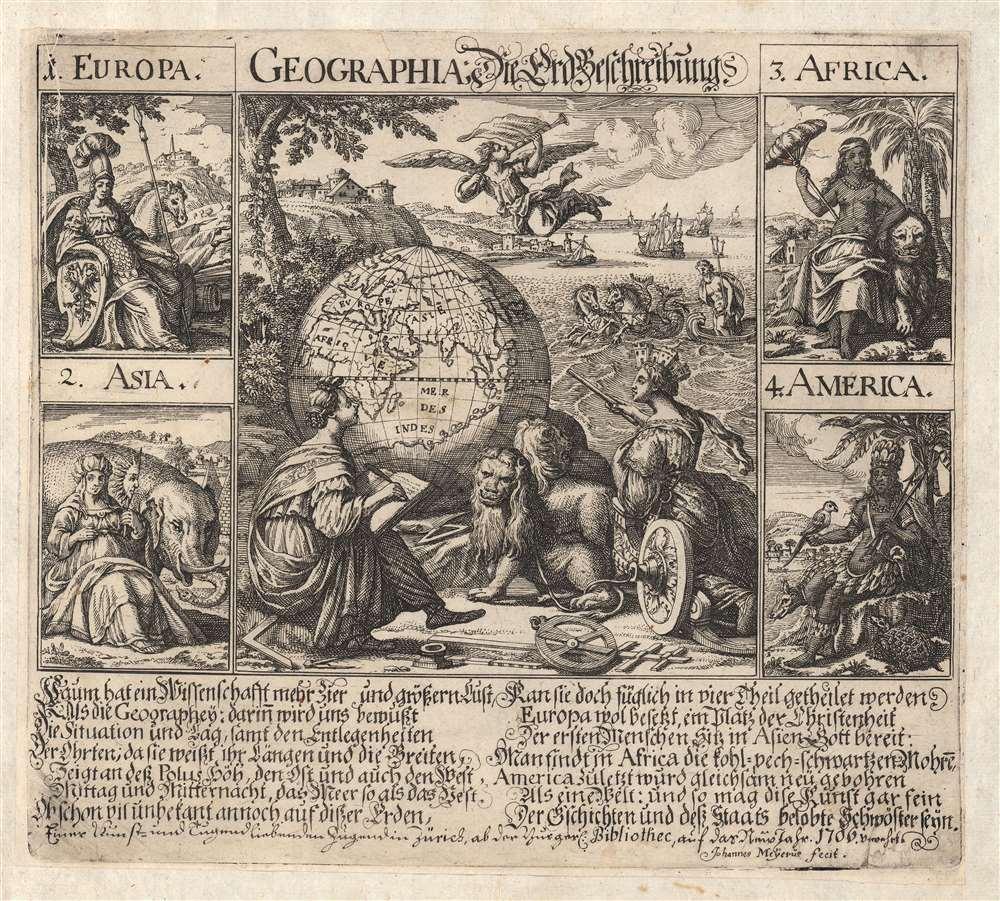 Geographia: Die Erd Beschreibung. - Main View