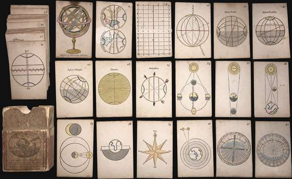 Cartes Elementaires d'Astronomie et de Geographie.