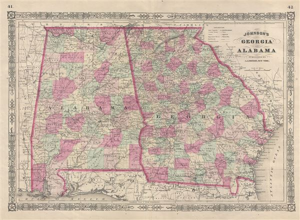 Johnson's Georgia and Alabama.