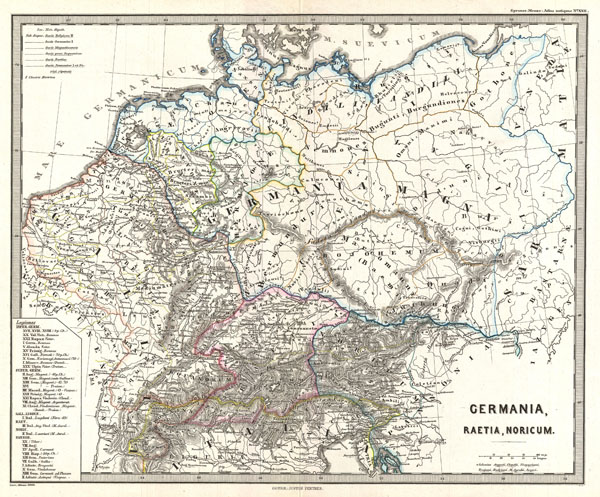Germania, Raetia, Noricum.