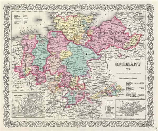 Germany No 1 Geographicus Rare Antique Maps