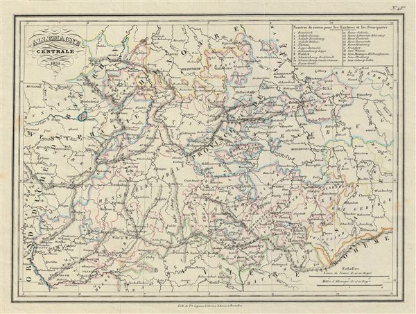 Allemagne Centrale.