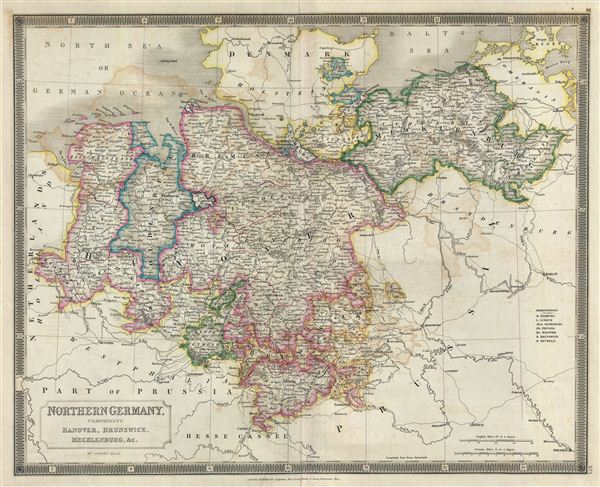 Northern Germany, comprising Hanover, Brunswick, Mecklenburg, &c.