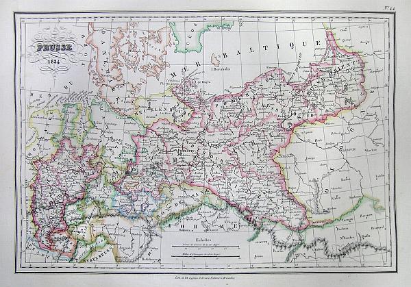Prusse 1834.