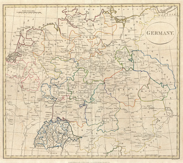 Germany Geographicus Rare Antique Maps