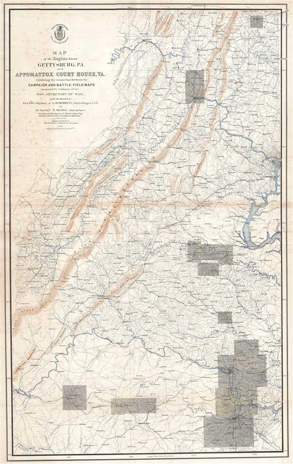 Maps, Atlases & Globes Professional Sale Parts Of Western Wyoming Southeastern Idaho Northeastern Utah Map 1878 Survey