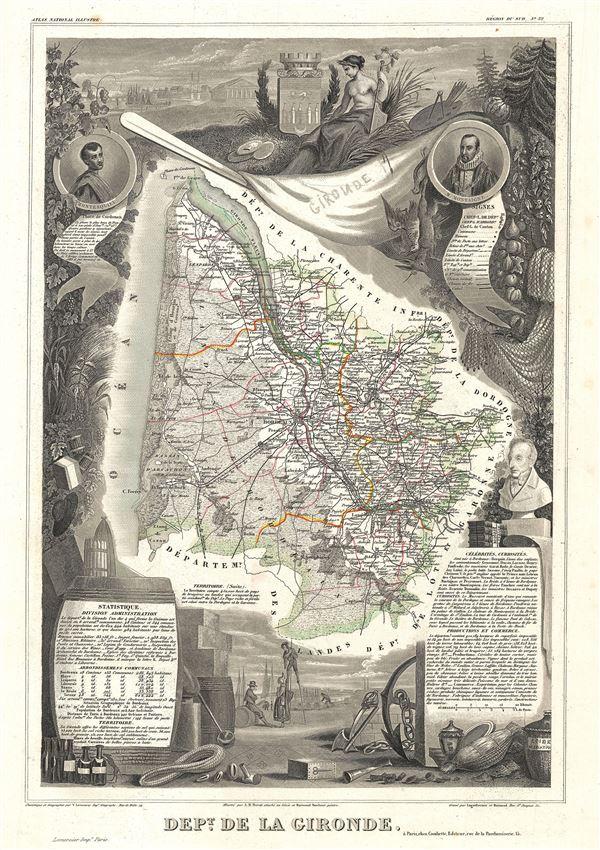 Dept. de la Gironde. - Main View