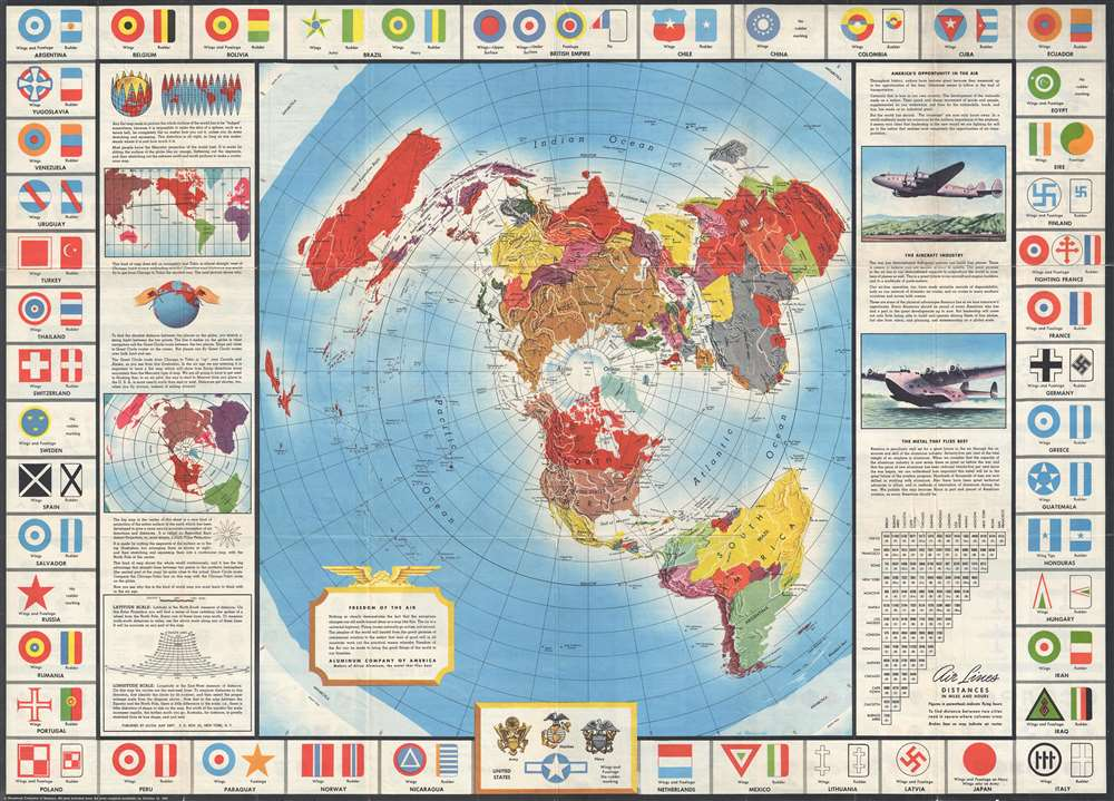 Global Map for Global War and Global Peace. - Main View