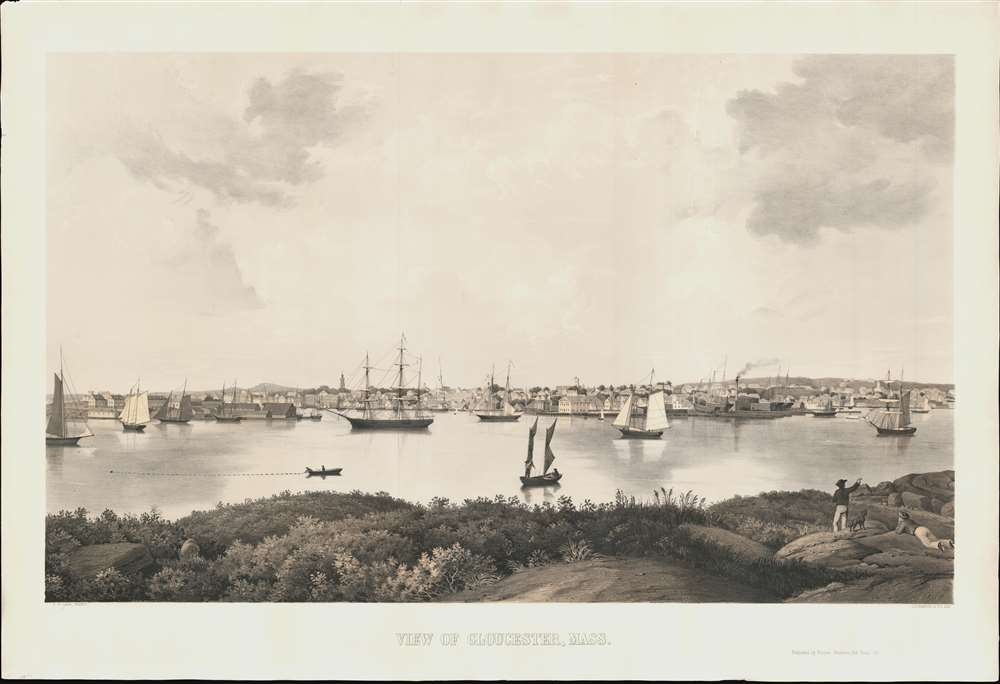 View of Gloucester, Mass. - Main View