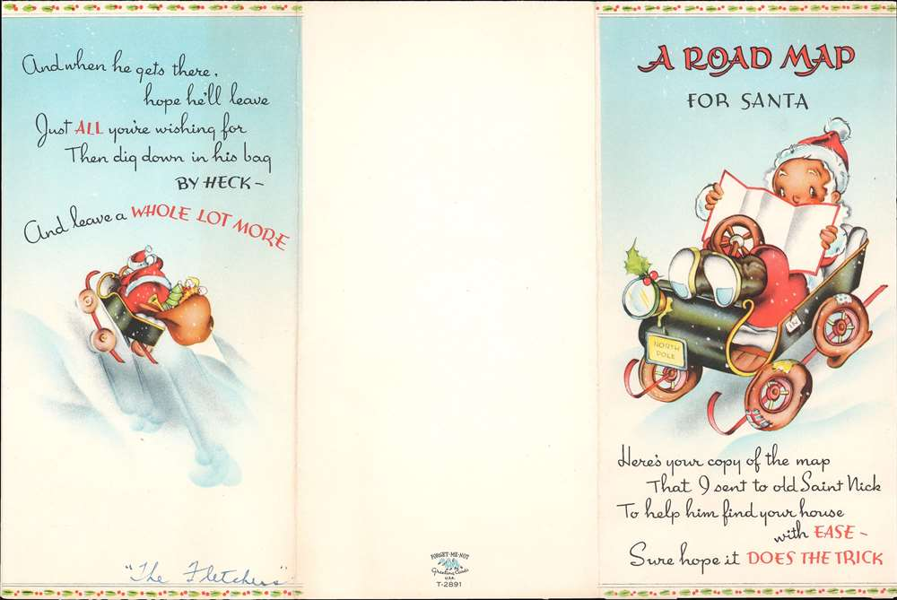 A Road Map for Santa. State of Good Cheer. - Alternate View 1