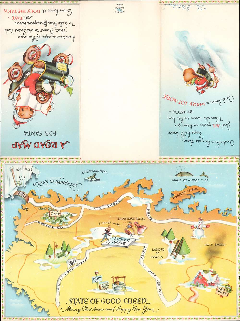A Road Map for Santa. State of Good Cheer. - Alternate View 2