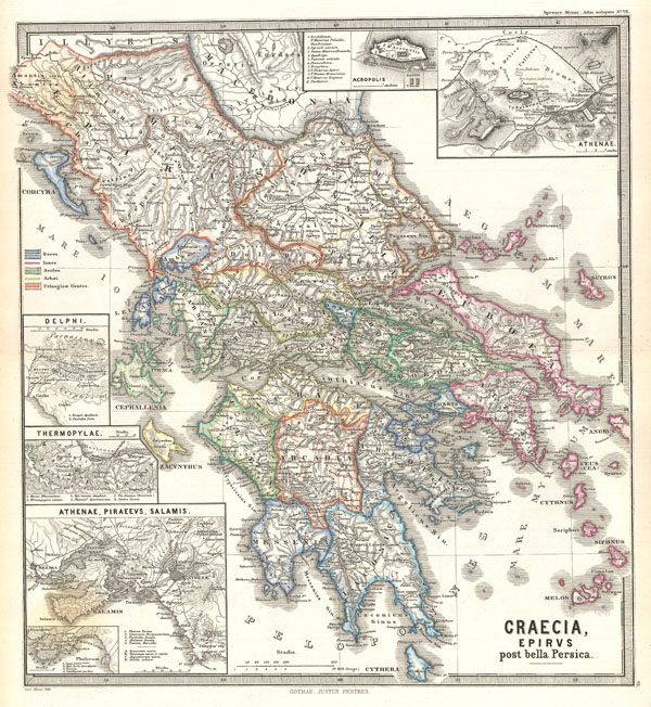 Graecia, Epirus post bella Persica