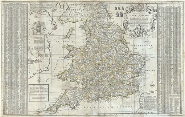 The Southern Part of Great Britain called England and Wales. - Main View