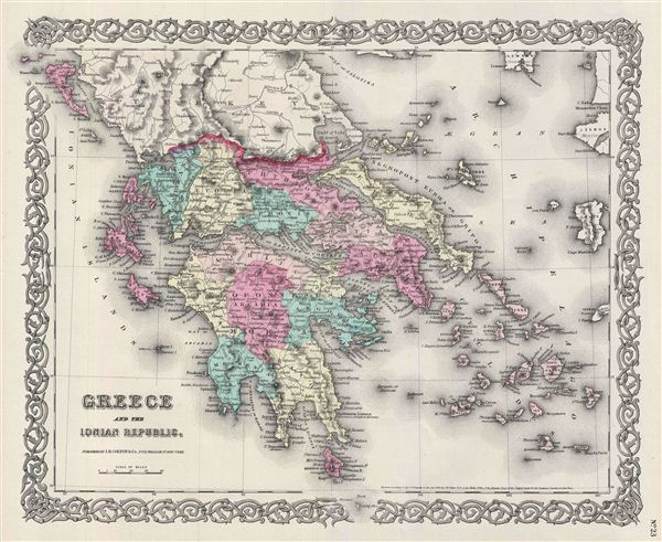 Greece and the Ionian Republic. - Main View