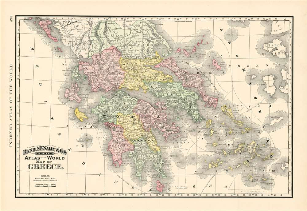 Map of Greece. - Main View