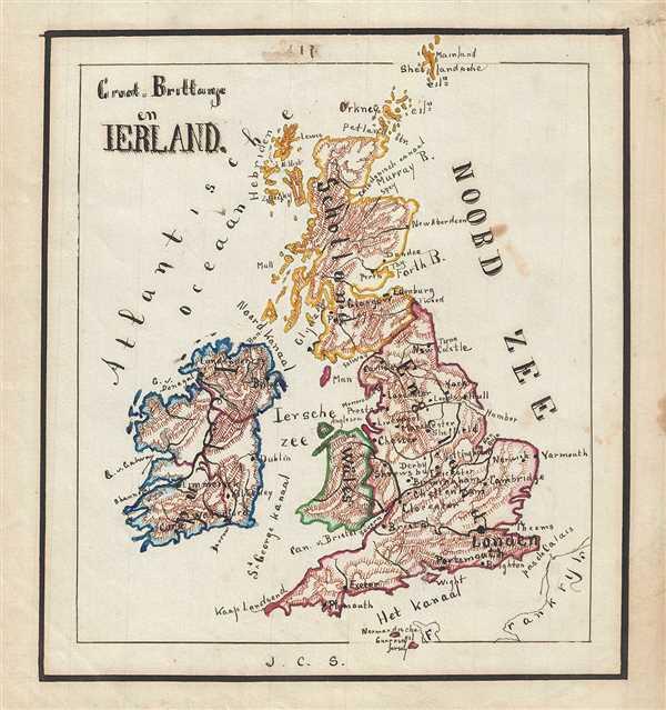 Groot-Brittahje en Ireland.