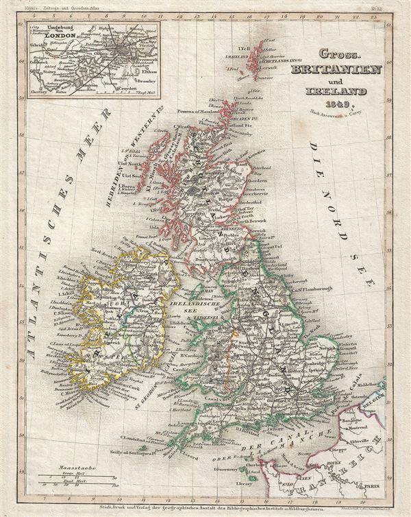 Gross. Britanien und Ireland. - Main View