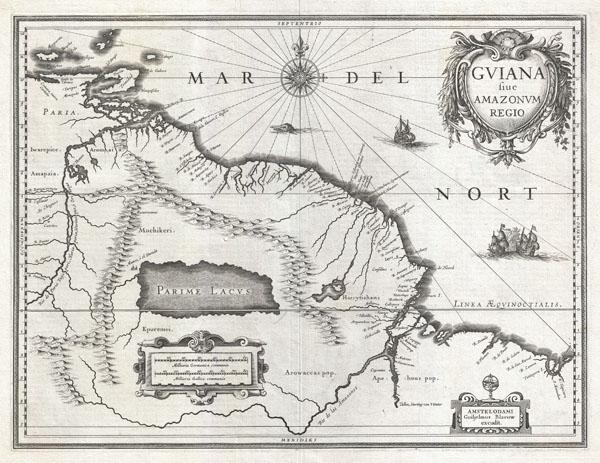 Gviana siue Amazonvm Regio.